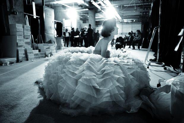 Dior, Haute couture, 2012, Schangai