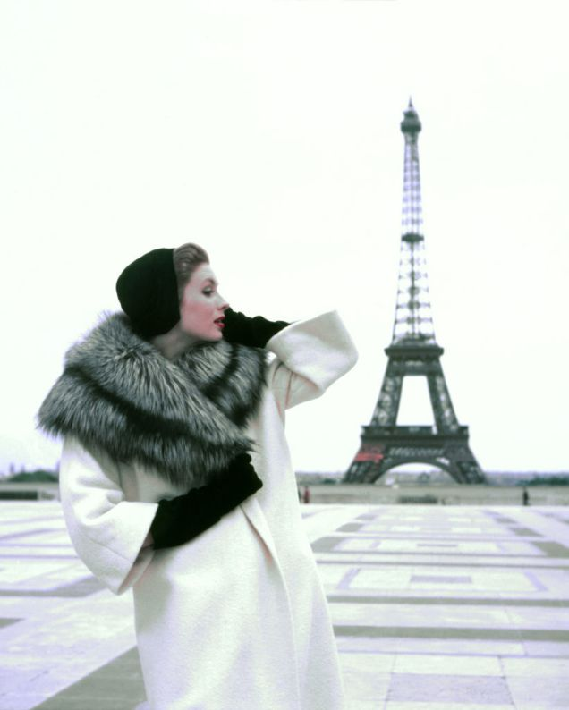 11Georges Dambier, Suzy Parker Givenchy za Elle
